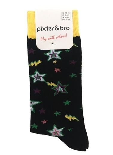Pixter&Bro Pixter&Bro 3'lü Çorap Siyah